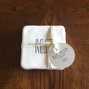 NWT Rae Dunn set of 4 coasters